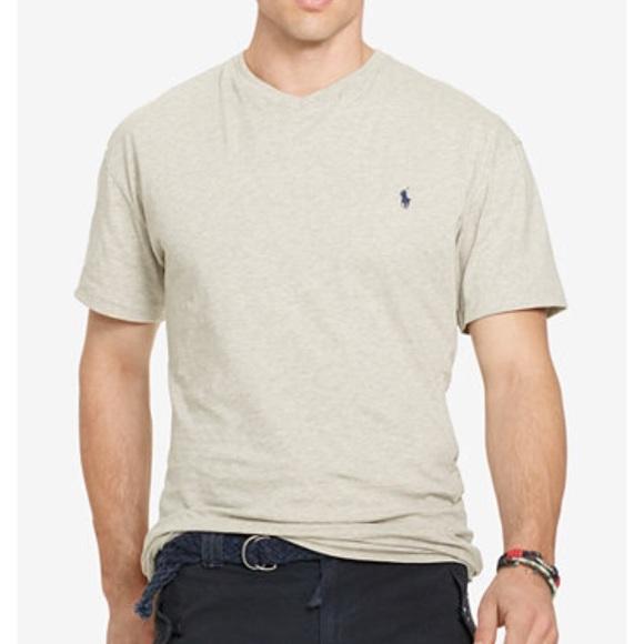 ralph lauren classic fit v neck t shirt
